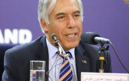 قیومی: افغانستان برای خودکفایی حدود ۹۰۰ میلیون دالر نیاز دارد