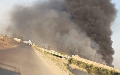 امریکا دست داشتن در حملات بالای انبارهای مهمات حشد الشعبی عراق را رد کرد