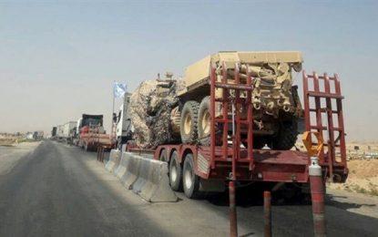 امریکا و متحدانش تجهیزان نظامی به سوریه ارسال کرد