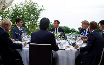 رئیس جمهور فرانسه مامور رساندن پیام گروه ۷ به ایران شده است