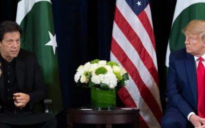 عمرانخان در دیدار با ترامپ، خواستار از سرگیری مذاکرات صلح با طالبان شد