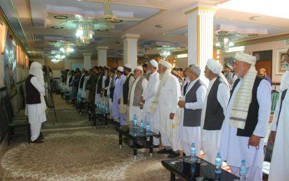 از روز همبستگی اقوام پشتون و بلوچ در نیمروز بزرزگداشت شد