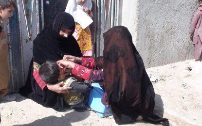 بیش از نیمی از کودکان حوزه غرب کشور از دریافت واکسین پولیو باز میمانند