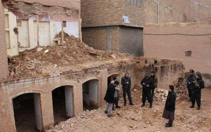 ممنوعیت ساخت و ساز در شهر قدیم هرات