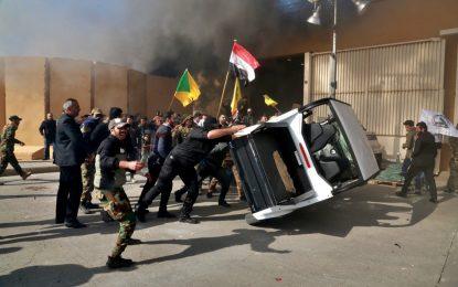 بحران عراق؛ شمار محافظان سفارت امریکا افزایش یافت