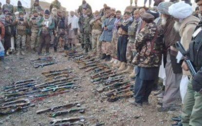 پیوستن ۵۰ جنگجوی طالبان به دولت در ولایت غور