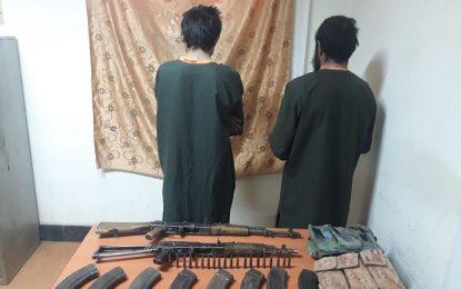 امنیت ملی نیمروز دو عضو گروه طالبان را بازداشت کرده است