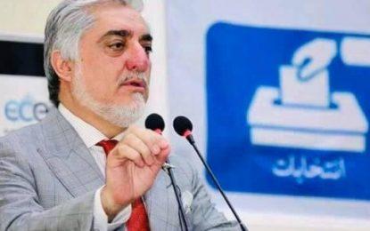 عبدالله به مسئول سیاست خارجی اتحادیهی اروپا: تبریکگفتن به اشرف غنی خلاف توقع مردم بود