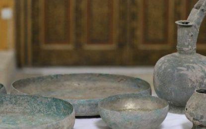 نیروهای امنیت ملی هرات ۱۹ قلم آثار تاریخی را کشف و ضبط کردند