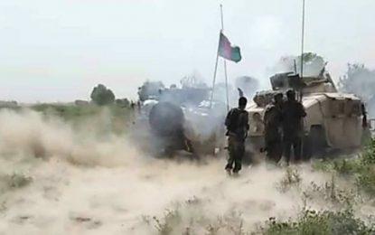 نیروهای اردوی ملی ۲۷ جنگجوی طالب را در قندز کشتند
