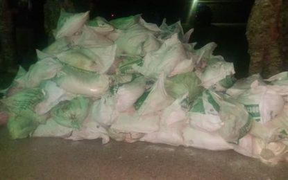 کشف و ضبظ ۴ هزار کیلوگرام مواد انفجاری در هرات