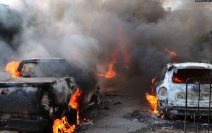 در سوریه ۴۶ تن بر اثر یک انفجار جان باختند