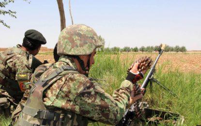 فرمانده قطعه واکنش سریع پولیس فاریاب کشته شد