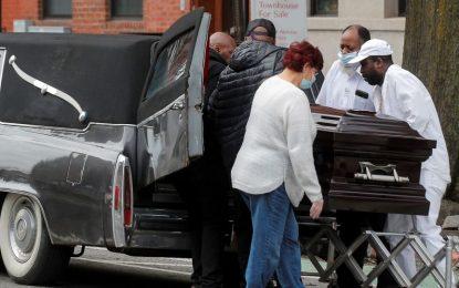 مرگ ۴ هزار تن در امریکا بر اثر کرونا در ۲۴ ساعت گذشته