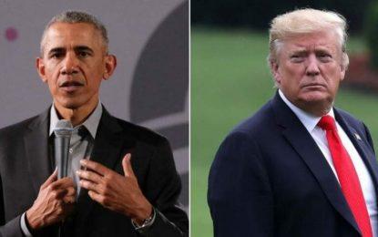 دونالد ترامپ: اوباما رییس جمهور کاملا بیکفایتی بوده است