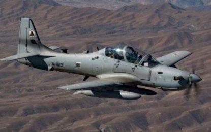 نیروهای هوایی کشور بالای یک قرارگاه طالبان در بلخ حمله نمودند