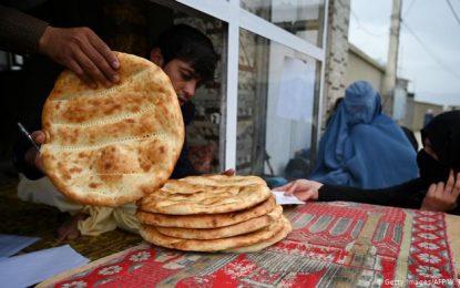 توزیع نان خشک به مستحقین در پنج ولایت دیگر آغاز شد