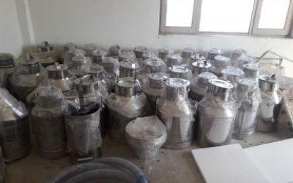 نخستین کارخانه پروسس شیر در لغمان گشایش یافت
