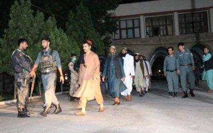 یازده زندانی طالبان از زندان مرکزی هرات آزاد شدند