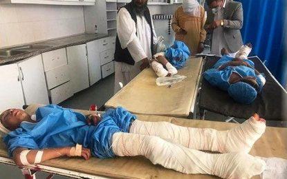 در نتیجه برخورد یک راکت در هرات ۸ تن شهید و زخمی شده اند