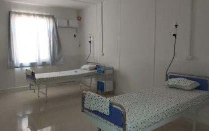 ۳۲ بستر در شفاخانه صدبستر کووید ۱۹ در هرات پس از سه ماه تجهیز شده است
