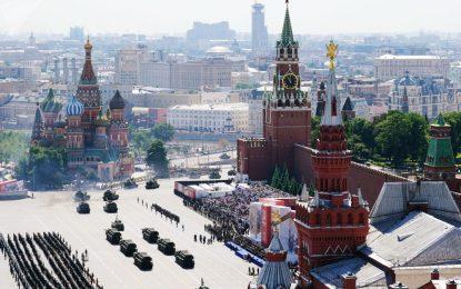 روسیه با رژه بزرگ نظامی از سالروز پیروزی بر آلمان نازی تجلیل کرد