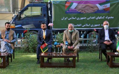 ایران به افغانستان ۱۱ تن تجهیزات طبی کمک میکند