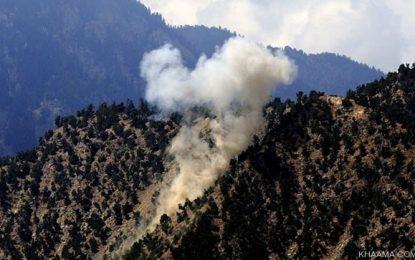 نظامیان پاکستانی ۲۹ راکت بر ولسوالی شلتن کنر شلیک کردند
