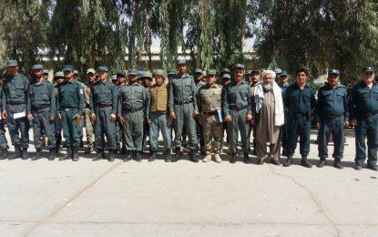 با آموزش ۳۵۰ سرباز؛ نیمروز پولیس غیرمسلکی ندارد