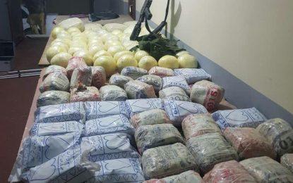 نیمروز: از قاچاق یک محموله ی ۱۴۲ کیلوگرامی مواد مخدر جلوگیری شد.