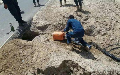کشف یک ذخیره بزرگ مهمات؛ طالبان قصد تخریب بندکمال خان را داشتند.